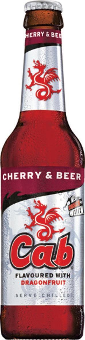 Jetzt ganz neu: Cab CHERRY & BEER / Neuer Mix belebt den Markt (mit Bild)