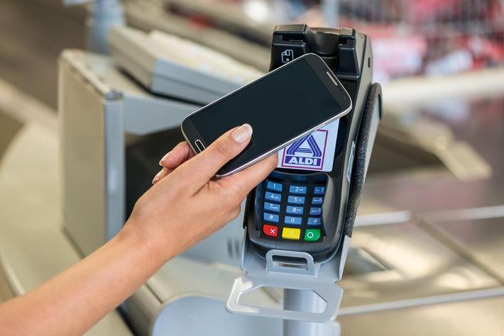 Kontaktloses Bezahlen bei ALDI NORD / - Einführung neuer Kartenterminals / - Bundesweite Akzeptanz von kontaktlosen Zahlungen