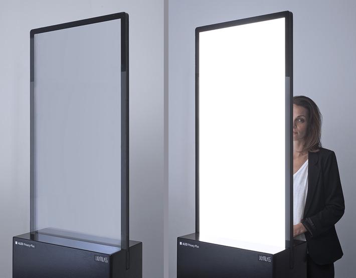 Smart Glass Unternehmen LightGlass mit Architizer A+Award ausgezeichnet - BILD