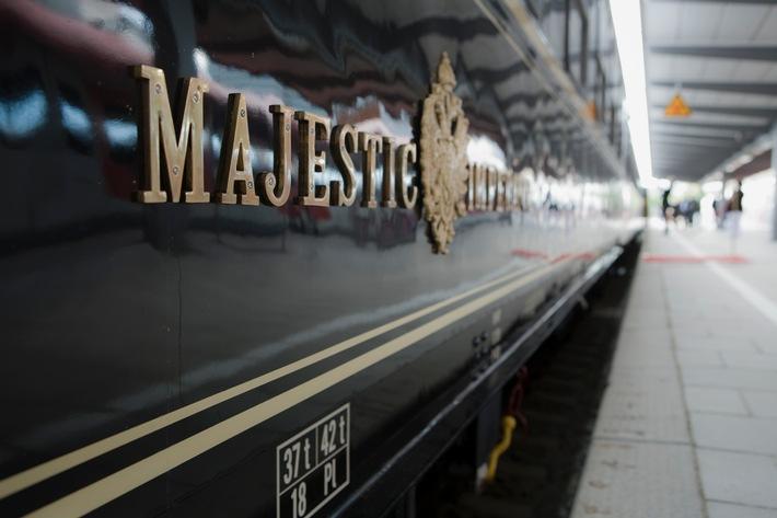 """PALAZZO weitet Zusammenarbeit mit Wirecard aus - Neues Veranstaltungskonzept mit Luxuszug """"Imperial Dinner Train"""" (mit Bild)"""