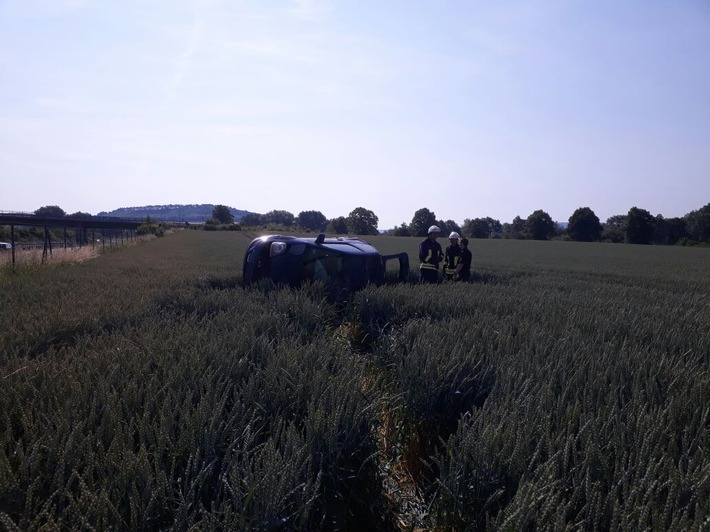 POL-GÖ: (365/2017) Autofahrer nach Verkehrsunfall auf A 38 schwer verletzt