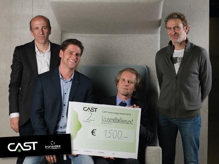 MCI Forscherteam erringt 2. Platz beim CAST Technology Award