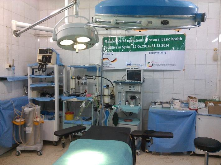Syrien: Menschenwürdige Krankenversorgung in einem menschenverachtenden Krieg