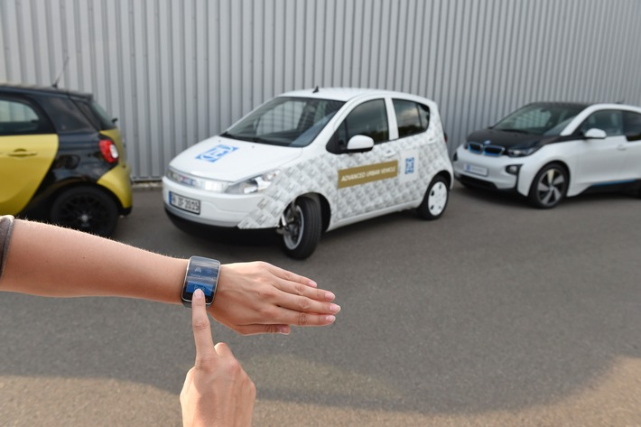 ZF Advanced Urban Vehicle / ZF Friedrichshafen AG bietet honorarfreies Fotomaterial für Medien in der Bilddatenbank der Deutschen Presse-Agentur (dpa)