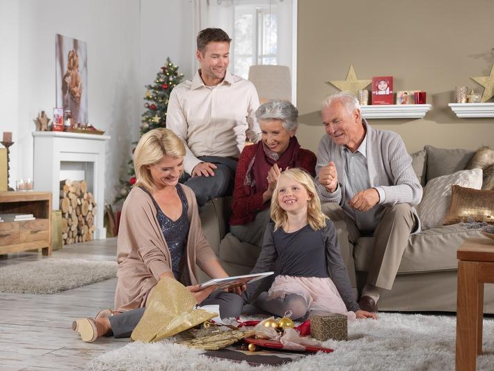 Umfrage von CEWE und forsa zum Thema Weihnachtsgeschenke