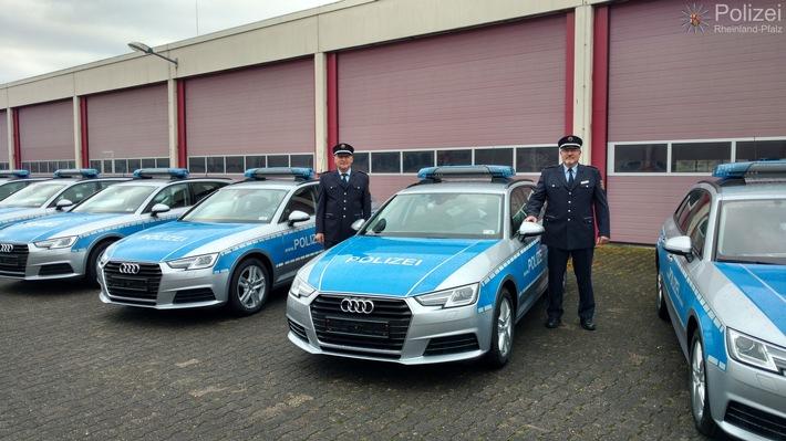 Neue Audi für PP Trier