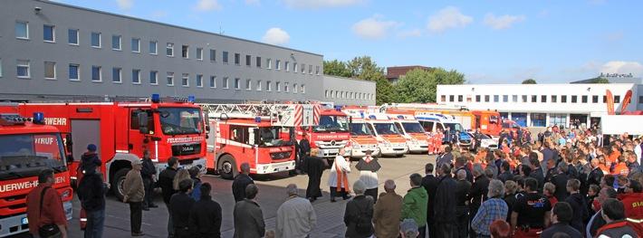 Tage der offenen tür  FW-E: Tage der offenen Tür bei der Feuerwehr Essen, Wache an der ...