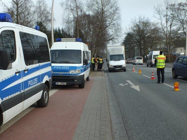POL-SE: Polizeidirektion Bad Segeberg / Norderstedt: Erneuter Großeinsatz gegen Einbrecher in der Metropolregion Hamburg