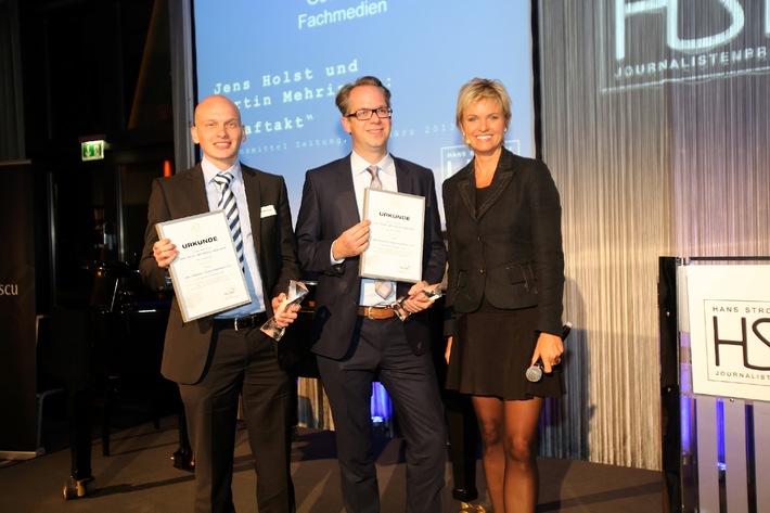 Zwei LZ-Journalisten mit dem Hans Strothoff-Journalistenpreis ausgezeichnet