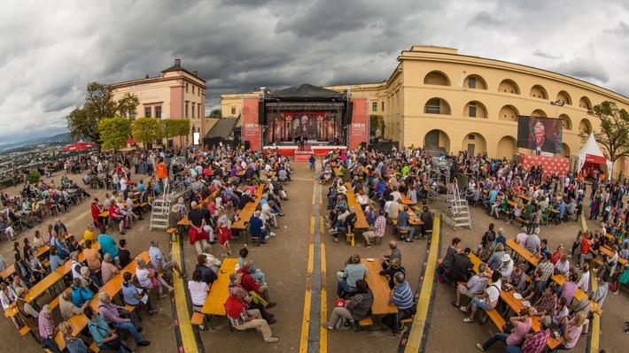 """Sie kamen, sahen und feierten / 8.000 Besucher machten beim """"SWR Fernsehen Familienfest"""" am 4. September 2016 auf der Festung Ehrenbreitstein in Koblenz mit"""