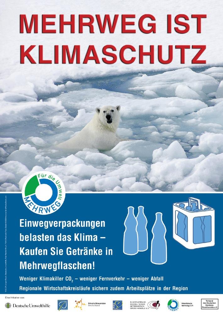 """Aktion """"Mehrweg ist Klimaschutz"""" mit Rekordbeteiligung"""