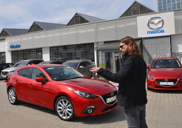 Exklusive Momente mit Mazda,Rea Garvey und Samu Haber
