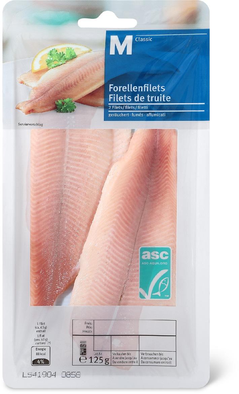 Migros verkauft als erste weltweit ASC-Forellen (BILD)