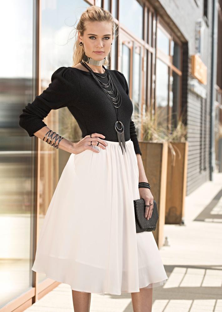 Eine Modesaison voller Kontraste stellt sich vor - Bijou Brigitte präsentiert die Schmuck- und Accessoires-Neuheiten der Herbst-/Winter-Kollektion 2016/2017