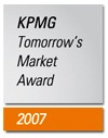 "Le ""KPMG Tomorrow's Market Award"" 2007 consacre une nouvelle technique de vaccination"