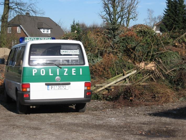 POL-SE: Pinneberg: Aktion sauberes Osterfeuer-Umweltschutztrupp Pinneberg gibt Tipps zur bevorstehenden Osterfeier