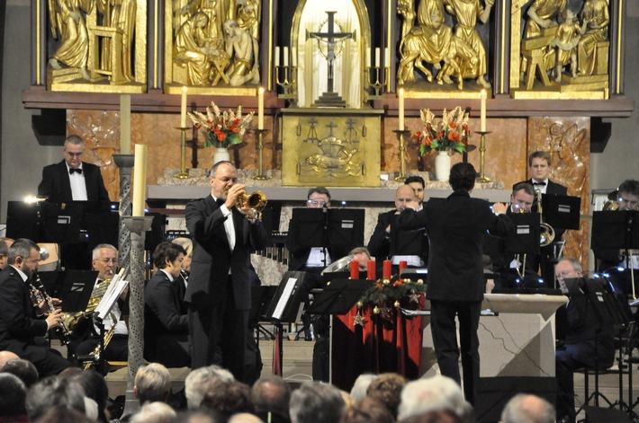 POL-PPWP: Landespolizeiorchester sorgt für Gänsehautstimmung  Viertes Adventskonzert in der Gelöbniskirche Maria Schutz