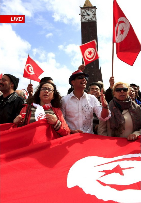 SWI swissinfo.ch mit direkter Demokratie am Global Forum on Modern Direct Democracy in Tunis