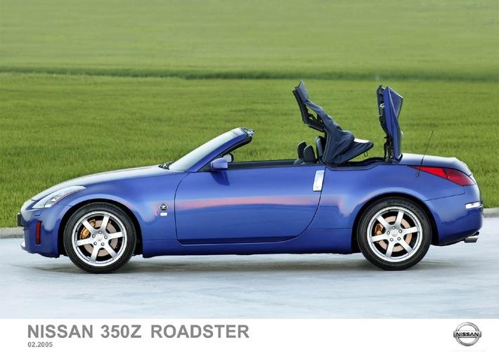 """Au 75ème Salon de Genève un jury de spécialiste l'a choisie: La Nouvelle Nissan 350Z Roadster élue """"Cabriolet de l'année"""""""
