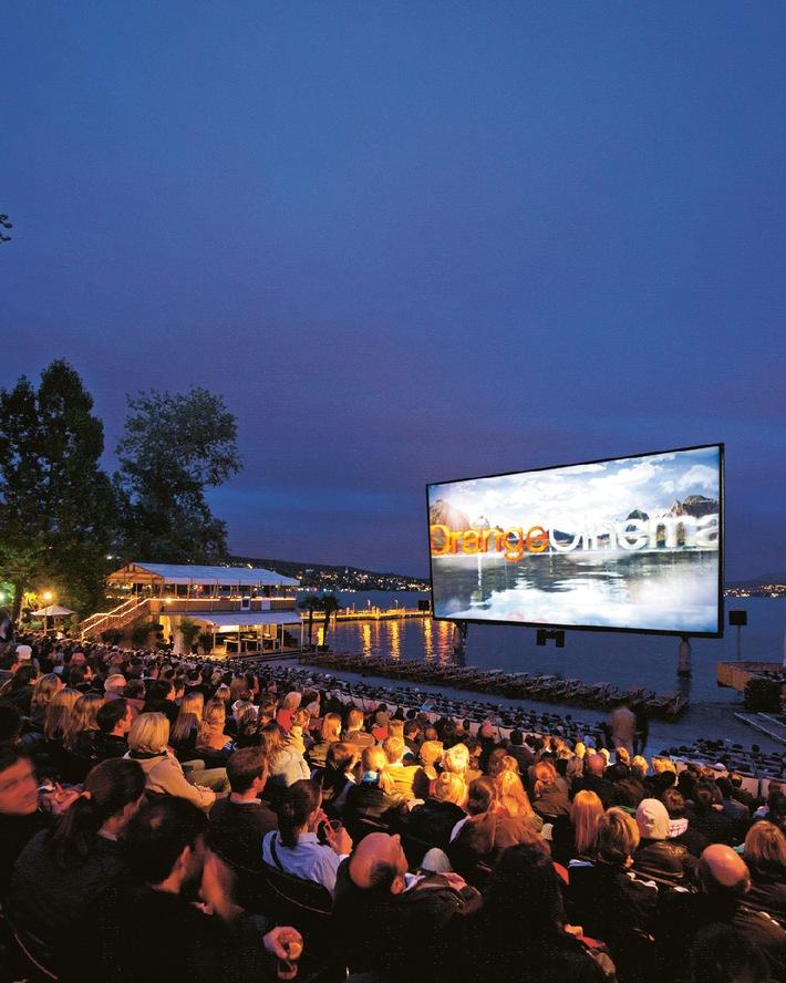 OrangeCinema 2012: Das Kino am See öffnet seine Tore wieder
