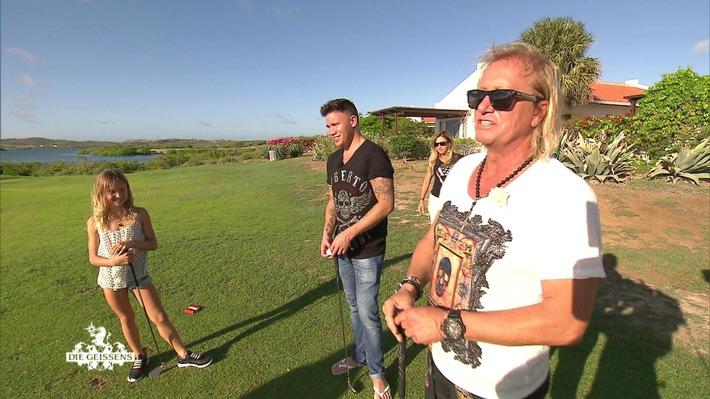"""""""Die Geissens"""": Horrornacht in Curacao & Golfen mit Kay One"""