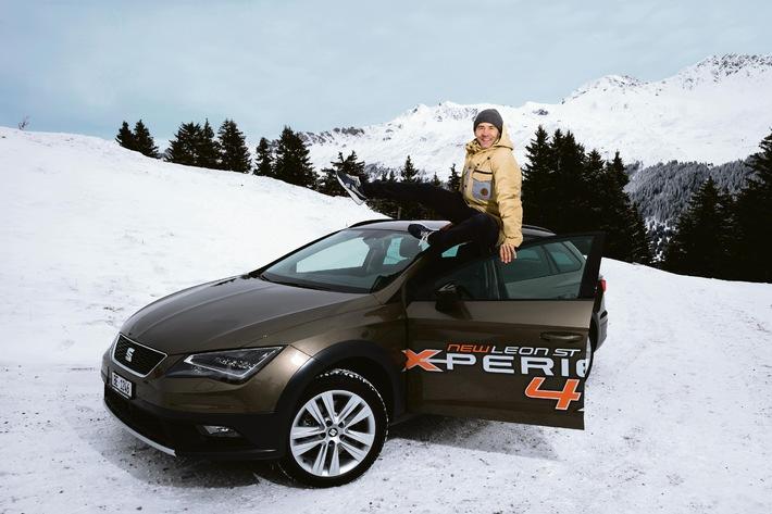 Gian Simmen est l'ambassadeur SEAT de la Leon ST X-PERIENCE