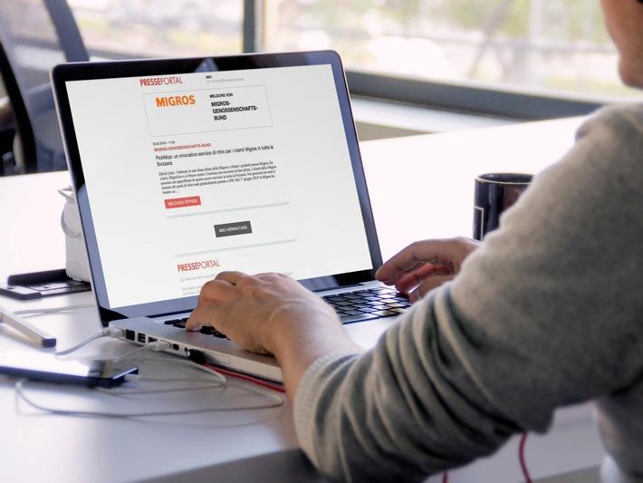 Presseportal.ch: Nouveau service d'abonnement pour rédacteurs, prescripteurs et professionnels du secteur