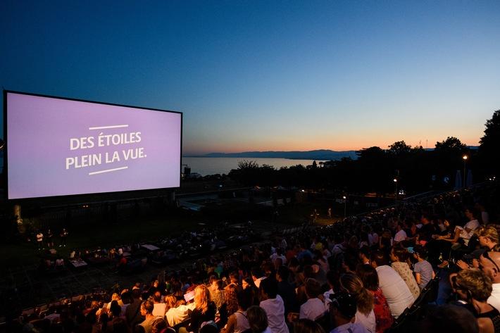 Plus de 18'000 spectateurs ont assisté aux projections sous les étoiles d'Allianz Cinema !