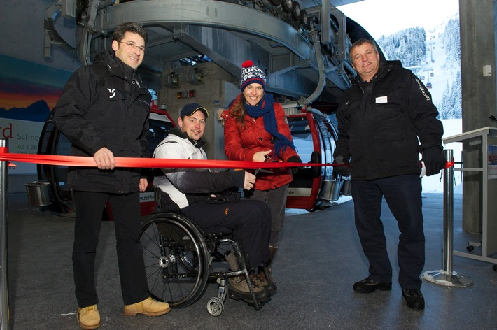 Lenzerheide mit neuem Einstiegsportal ins Schneesportgebiet