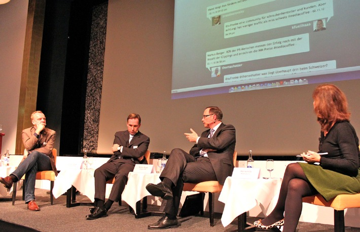 media coffee von news aktuell: Social Media - Blühende Zukunft oder düstere Zeiten für PR-Schaffende?