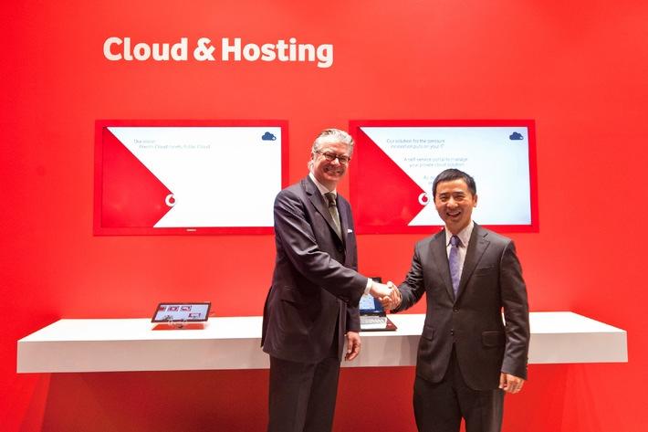 Huawei setzt auf Vodafones deutsche Datacenter