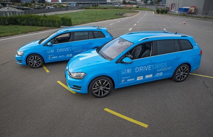 Volkswagen unterstützt «DRIVESWISS HANDICAP» als Partner