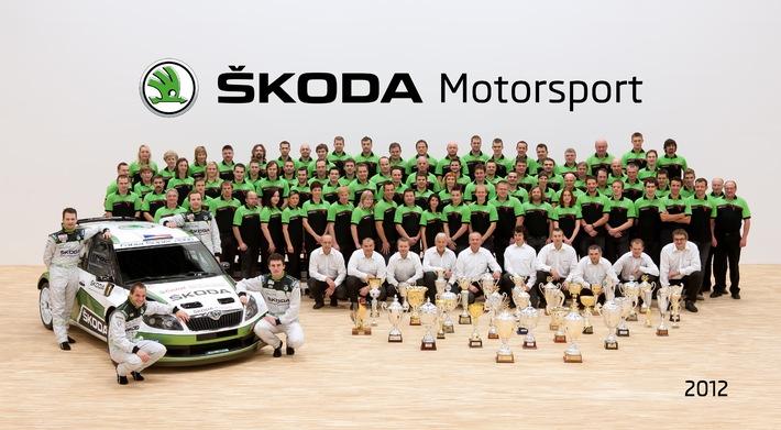 SKODA ist die erfolgreichste Marke der IRC-Geschichte (BILD)