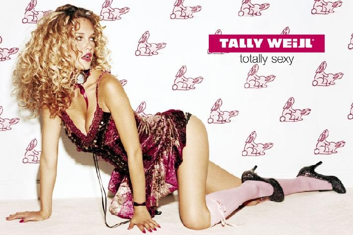"""It's fun to be sexy"""" - Hasenzeit bei Tally Weijl ! Neue Plakatkampagne mit Love Bunnies in 12 Grosstädten lanciert"""