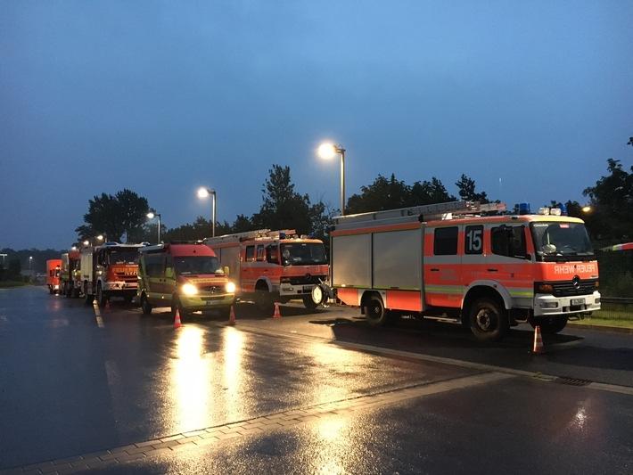 FW-D: Überörtliche Hilfeleistung auch in der Stadt Hamminkeln