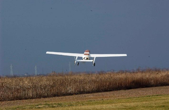 Erfolgreicher Testflug der Drohne NT 150 von SwissCopter