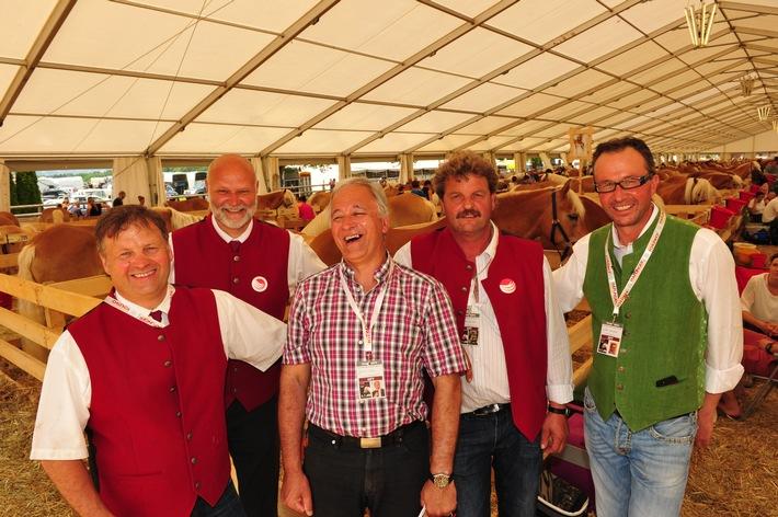 Sensationeller Erfolg bei der 6. Haflinger Welt Ausstellung in Ebbs/Tirol - BILD