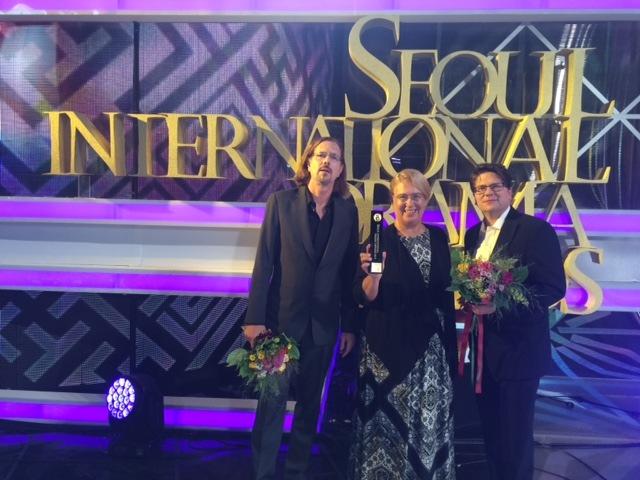 """Seoul International Drama Award 2015 für """"Nackt unter Wölfen"""""""