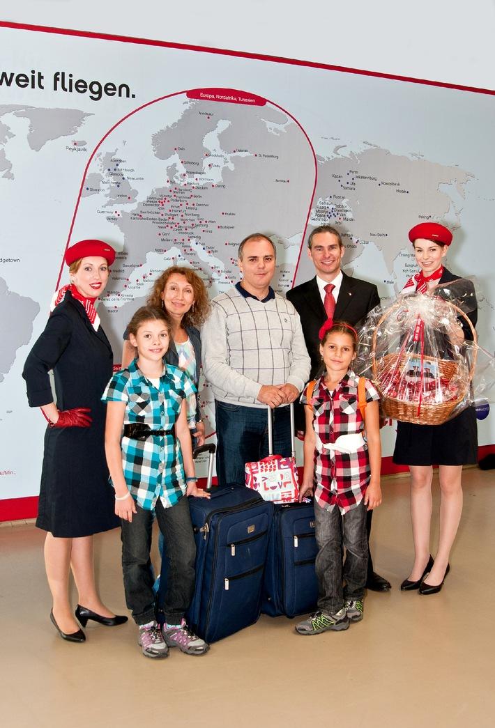 airberlin begrüßt den dreimillionsten topbonus Teilnehmer / Gewinnspiele für alle Vielflieger