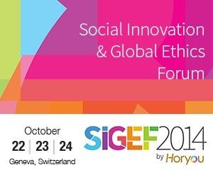 Le Forum De l'Innovation Sociale Et De l'Ethique Globale (SIGEF 2014) Ouvre Ses Portes