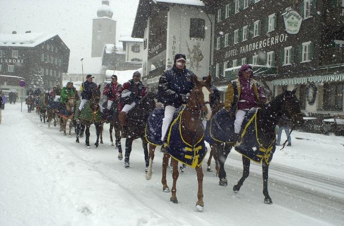 Am Arlberg herrscht tiefster Winter  -  zur Freude aller Ski- und Snowboardfans
