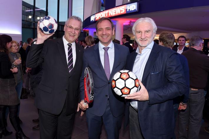 Sky Sport News HD ab sofort für jedermann:Knapp 200 geladene Gäste aus Sport, Politik, Wirtschaft und Medien feiern den Start ins Free-TV