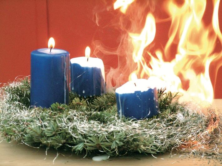 Zur Weihnachtszeit steigt die Brandgefahr - Senioren sind besonders gefährdet