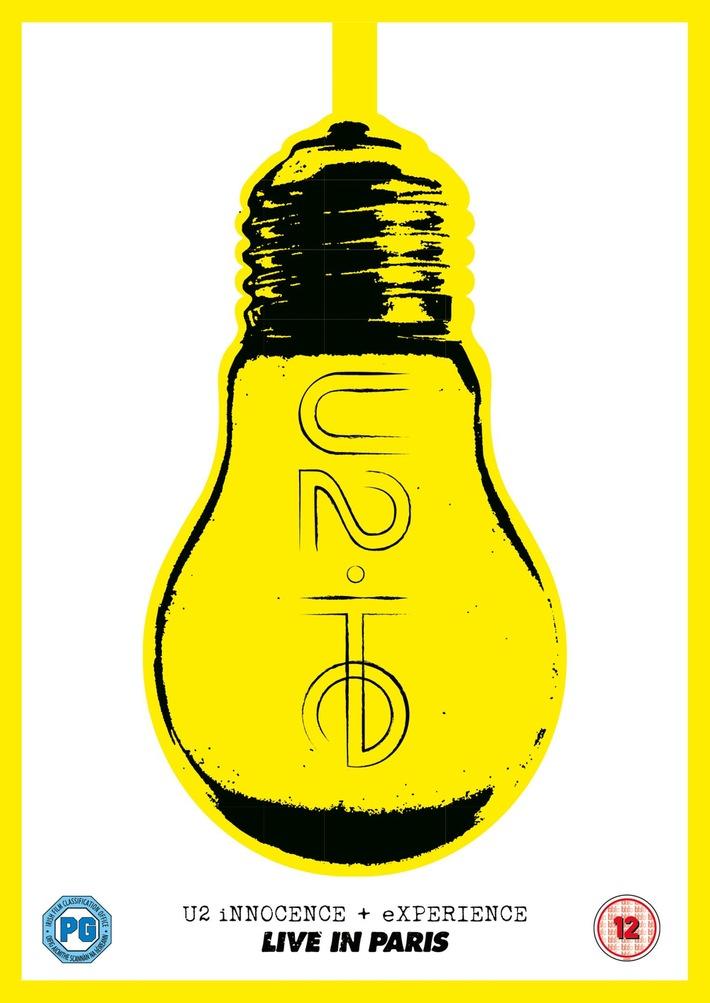 U2 - iNNOCENCE + eXPERIENCE - Live In Paris erscheint am 10. Juni