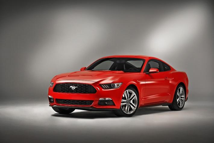 Der neue Ford Mustang feiert auf der Essen Motor Show seine Deutschlandpremiere