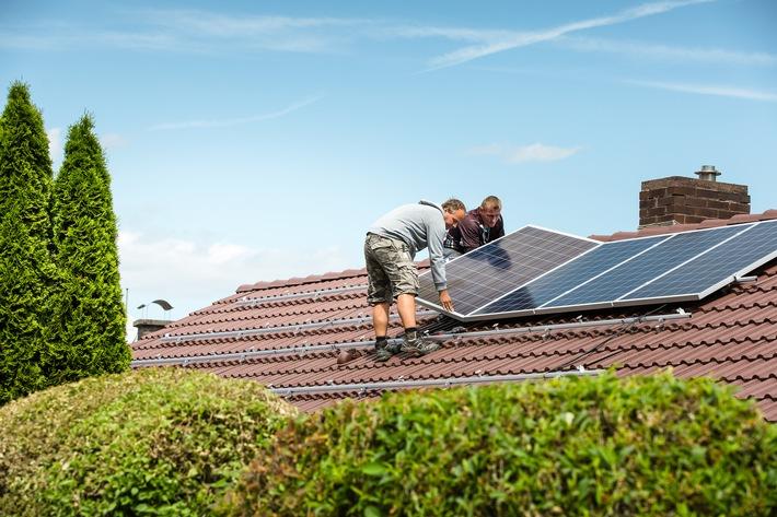 Solaranlage von ENTEGA ab 53 Euro monatlich - Bis zu 450 Euro Förderung möglich