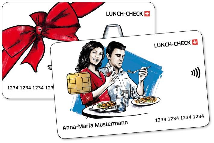 Lunch-Check Svizzera lancia una carta con la modernissima funzione contactless per i pagamenti senza contanti