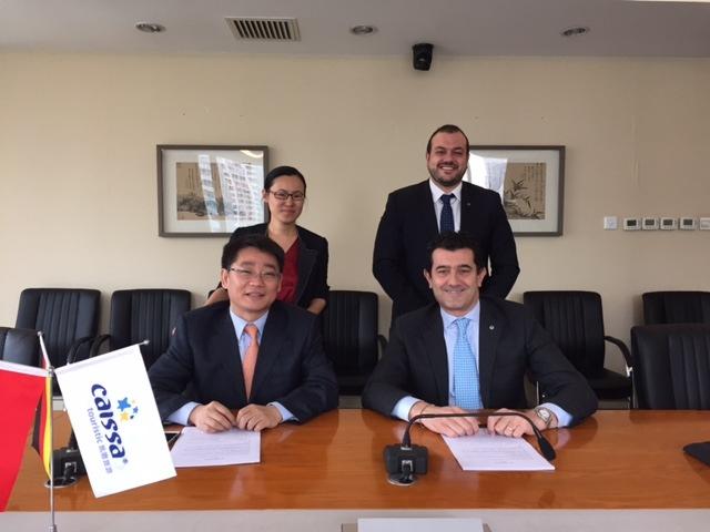 CAISSA TOURISTIC et MSC Cruises annoncent un partenariat stratégique au niveau mondial / Shanghai en Chine, nouveau port d'attache du MSC Lirica à partir de mai 2016