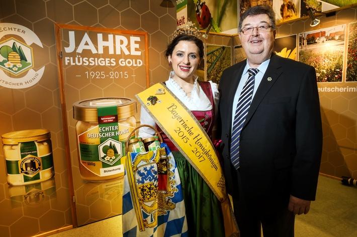"""Grüne Woche und """"Echter deutscher Honig"""" feiern gemeinsam"""