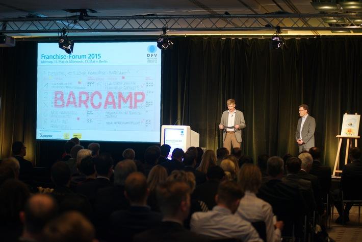 Franchise-Forum 2015 in neuem Gewand / Die Teilnehmer bestimmten das Programm